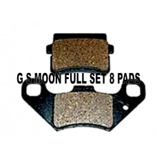 Brake Pads Set Of 8 GS Moon Atv Buggy 260cc