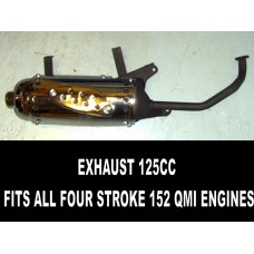 Exhaust Special Offer 125cc Four Stroke
