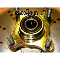 Hub Front With Bearings 260cc