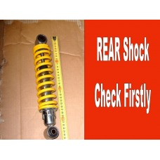 Rear Shock Check First