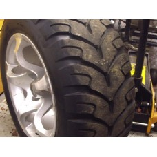 Front Wheel And Tyre Nearly New GS Moon ATV  Size 24.8.14