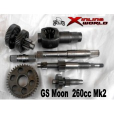 Differential Gear Set GSMoon 260 Mk2