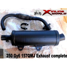 Exhaust System Complete  Kinroad 250cc Buggy Spares