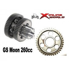 Differential Crown Wheel with middle shaft GSMoon