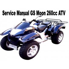Service Repair Manual GS Moon 260cc ATV